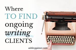 where to find ongoing writing clients